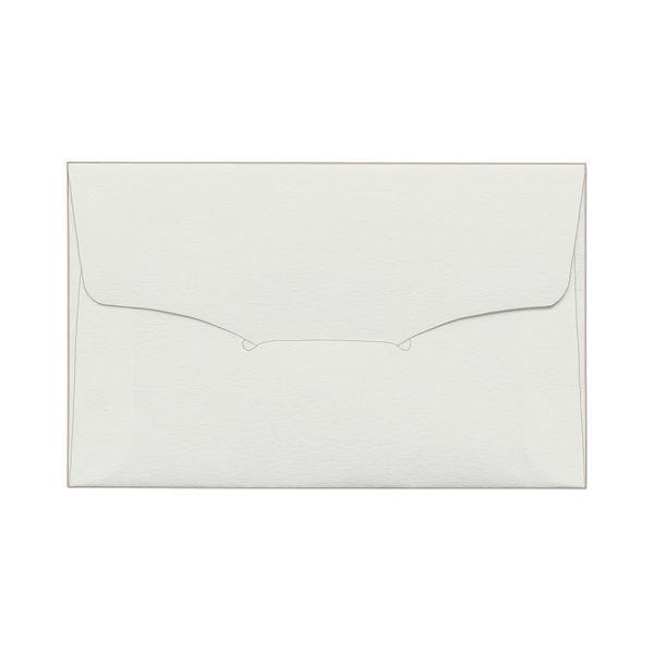 (まとめ) TANOSEE 名刺型封筒112×70mm タント 116.3g 1パック(10枚) 〔×50セット〕