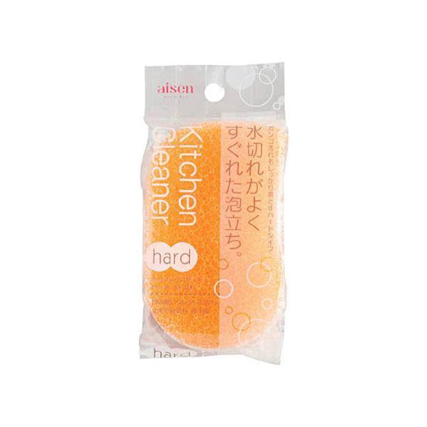 (まとめ)アイセン キッチンクリーナーハード オレンジ KF101-OR 1個〔×20セット〕