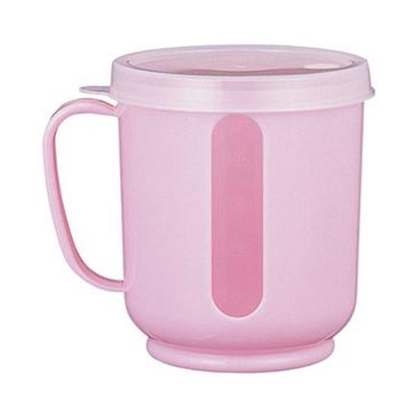 (まとめ)小森樹脂 メモリーコップ ピンク 1個〔×50セット〕