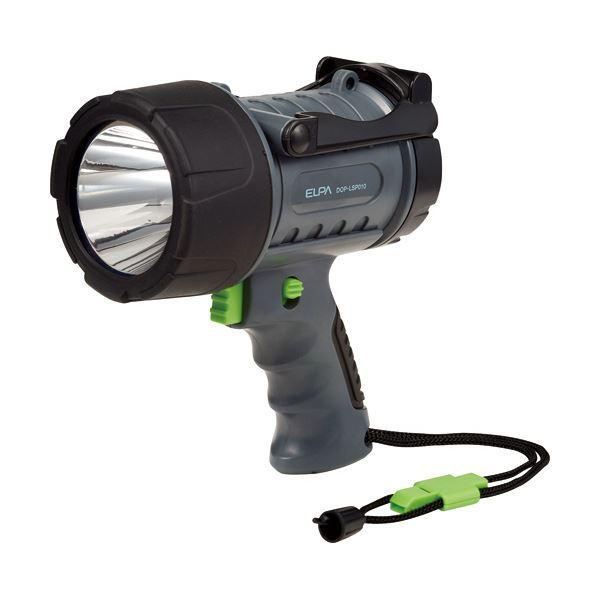 (まとめ)ELPA LEDパワーライトホイッスル付ストラップ DOP-LSP010 1個 〔×5セット〕