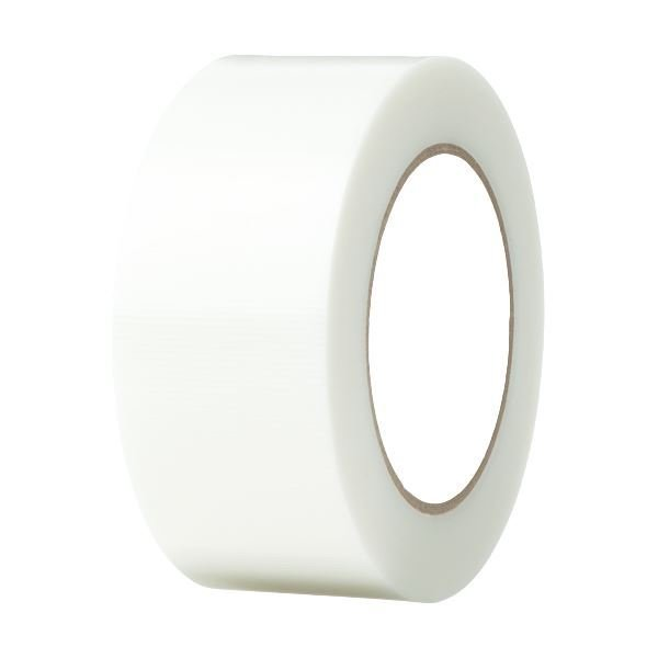 (まとめ)寺岡製作所 養生テープ 50mm×50m 透明 TO4100T-50 1巻 〔×10セット〕