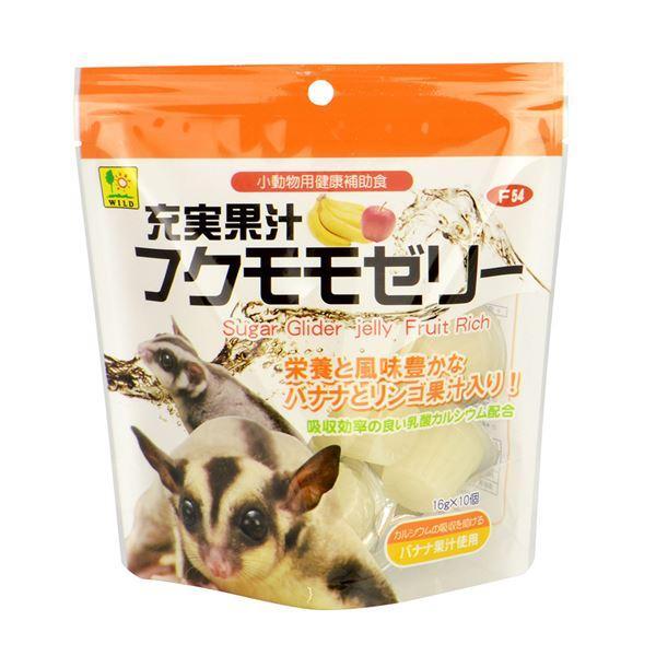 (まとめ) 充実果汁 フクモモゼリー 16g×10個 (ペット用品) 〔×12セット〕