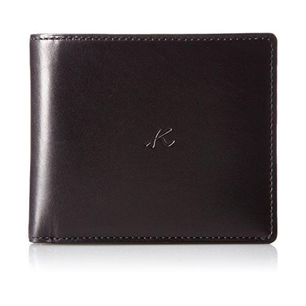 キタムラ 財布二折財布RH0468ブラック 黒 15151