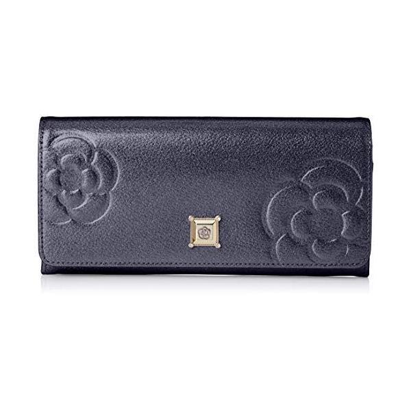 クレイサス 財布フラップ長財布   マリーゴールド187820ネイビー