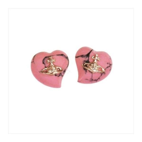 Vivienne Westwood ヴィヴィアンウエストウッド ピアス リズ BE165/34 ピンク×ピンクゴールド