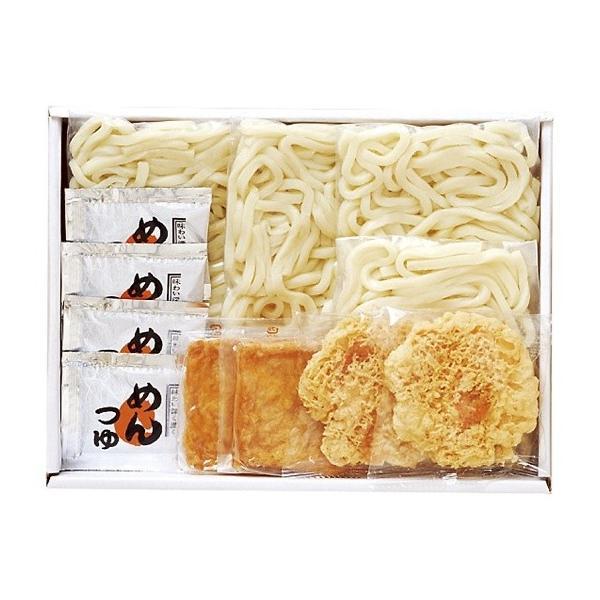 せい麺や 讃岐うどんきつね・天ぷら4食セット 616-25C