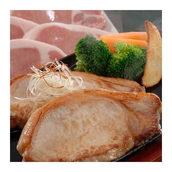 長野県産SPF豚ロースステーキ 120g×5枚 3950082