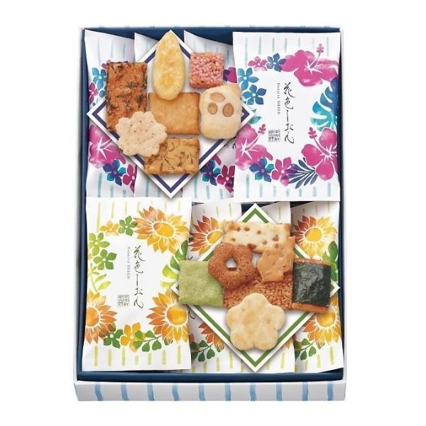 お中元 中央軒煎餅 花色しおん夏(8袋) 10T