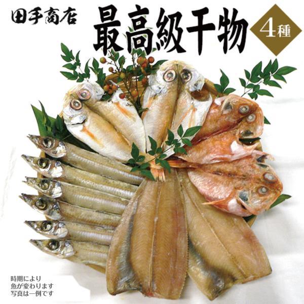 プレゼント ギフト 田手商店 干物セット 4種 wochigochi
