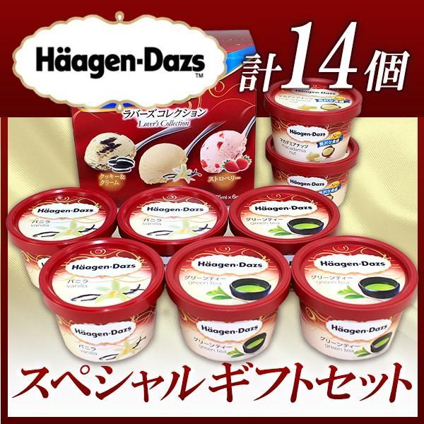アイスクリーム ハーゲンダッツ スペシャルセット 14個詰め合わせ お誕生日祝い・出産内祝い・ セール 送料無料 プレゼント|wochigochi