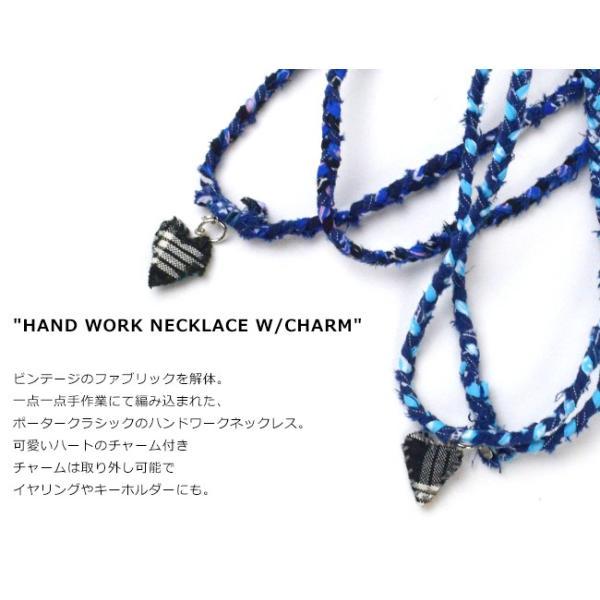 ポータークラシック Porter Classic ハンドワーク ネックレス チャーム HAND WORK NECKLACE W/CHARM PC-011-1009|womanremix|03