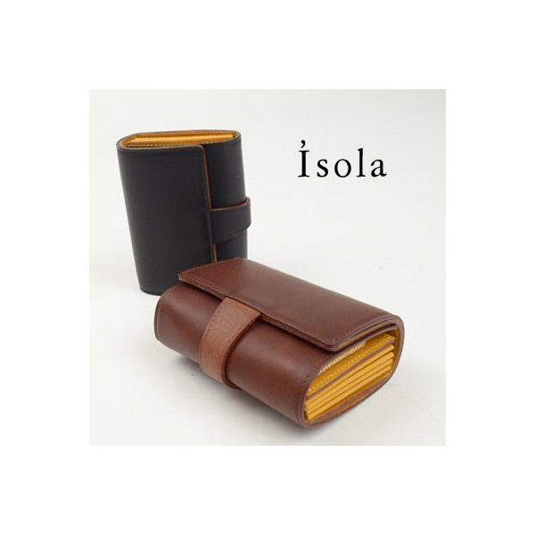 アイソラ Isola 二つ折り財布|womanremix