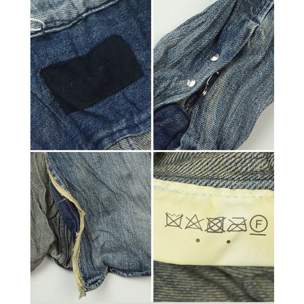 ジュンハシモト junhashimoto リンクルデニムシャツ WRINKLE DENIM SHIRTS 1060000005 2019春夏|womanremix|06