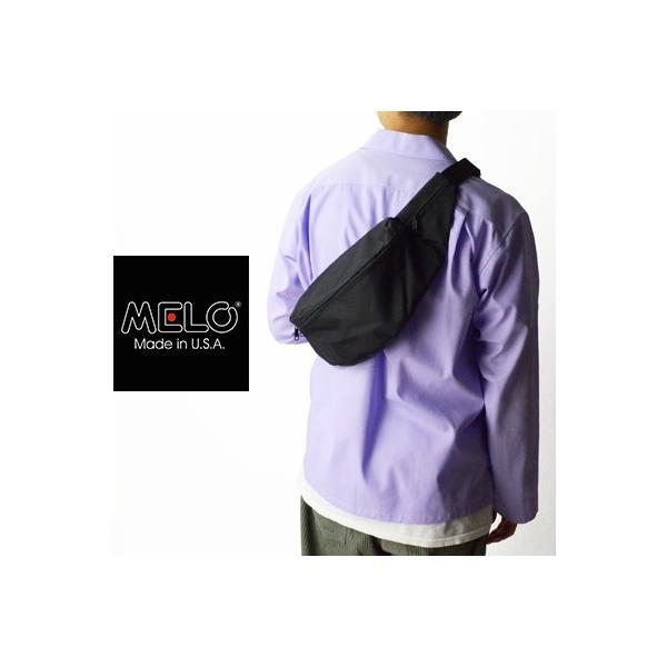 メロ MELO ミディアムウエストバッグ MEDIUM WAIST BAG (K1) 1430K-1|womanremix