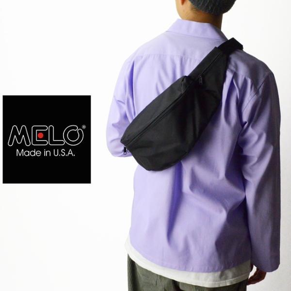 メロ MELO ミディアムウエストバッグ MEDIUM WAIST BAG (K1) 1430K-1|womanremix|02