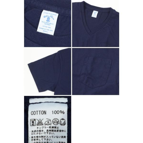 ベルバシーン Velva Sheen 限定カラー 1パック 半袖 Vネック ポケットTシャツ Limited Edition 1 PAC SS VN TEE WPK 1609202|womanremix|05