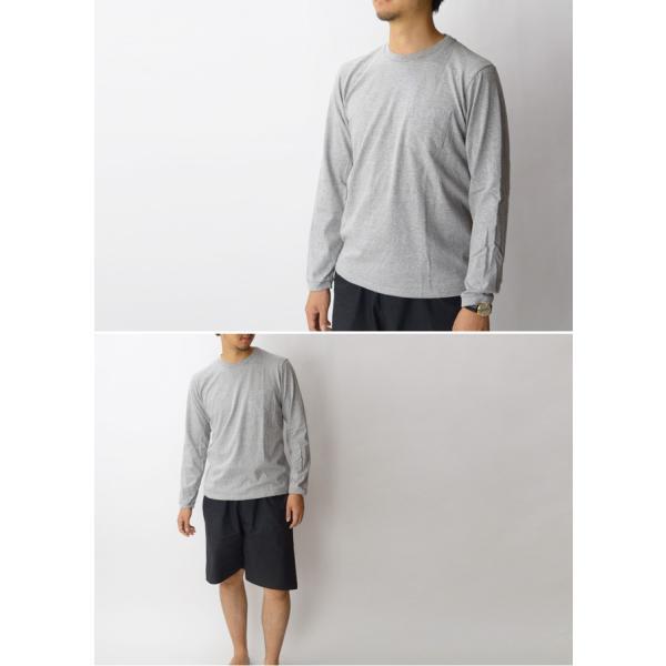 ベルバシーン Velva Sheen チューブ編みロングTシャツ TUBULER L/S TEE Tシャツ 無地 長袖 丸胴 160928|womanremix|03