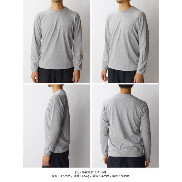 ベルバシーン Velva Sheen チューブ編みロングTシャツ TUBULER L/S TEE Tシャツ 無地 長袖 丸胴 160928|womanremix|05