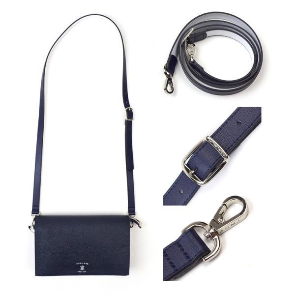 ADMJ エーディーエムジェイ Multi Material W-Pouch Shoulderbag マルチマテリアル ダブルポーチ ショルダーバッグ 19SA01006