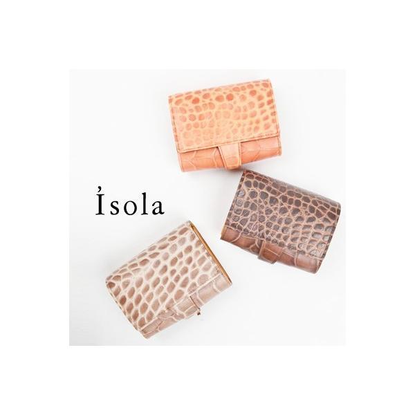 アイソラ Isola 二つ折り財布 レディース|womanremix