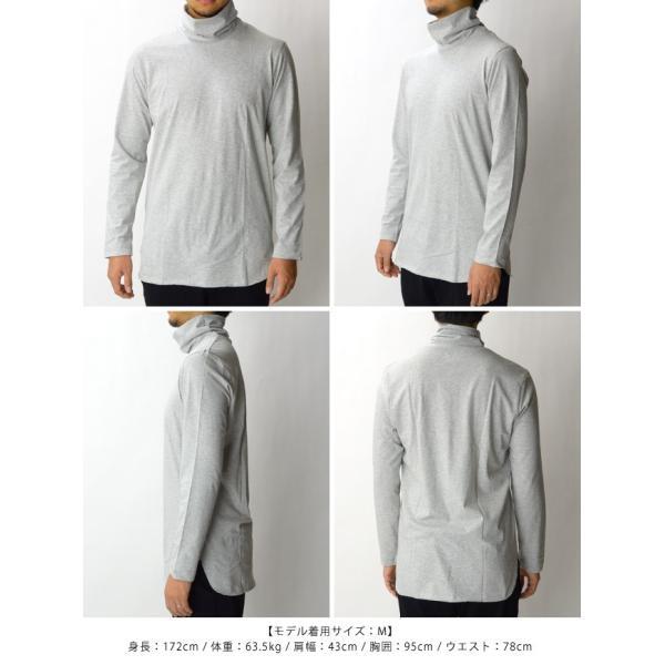 ピジャマクロージング pyjama clothing 長袖タートルネックカットソー L/S TURTLE 905/W16M2 2016AW|womanremix|05