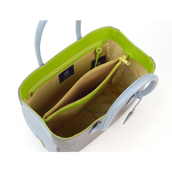 (ポイント10倍) ADMJ エーディーエムジェイ SHRINKLEATHER BI-COLOR TOTEBAG 32cm シュリンクレザーバイカラートートバッグ ACS01065|womanremix|05