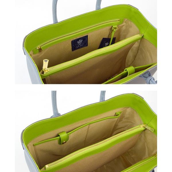 (ポイント10倍) ADMJ エーディーエムジェイ SHRINKLEATHER BI-COLOR TOTEBAG 32cm シュリンクレザーバイカラートートバッグ ACS01065|womanremix|06