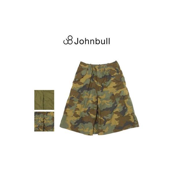 ジョンブル Johnbull  コットン ミリタリー キュロットスカート AK694 womanremix
