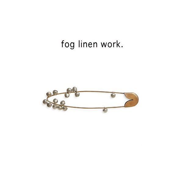 fog BRASS SAFETY PIN BELL M ブラスセイフティピン ベル M IHC522M-B レディース|womanremix