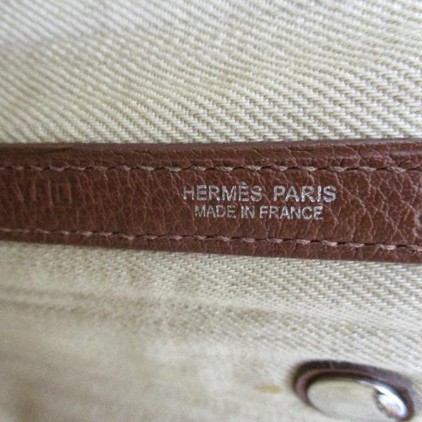 エルメス Hermes ガーデンパーティPM トワルデニムカヌレ バッグ 【あすつく】