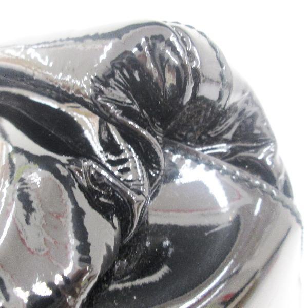 グッチ GUCCI エナメル 黒 ショルダ-バッグ 189833 【あすつく】