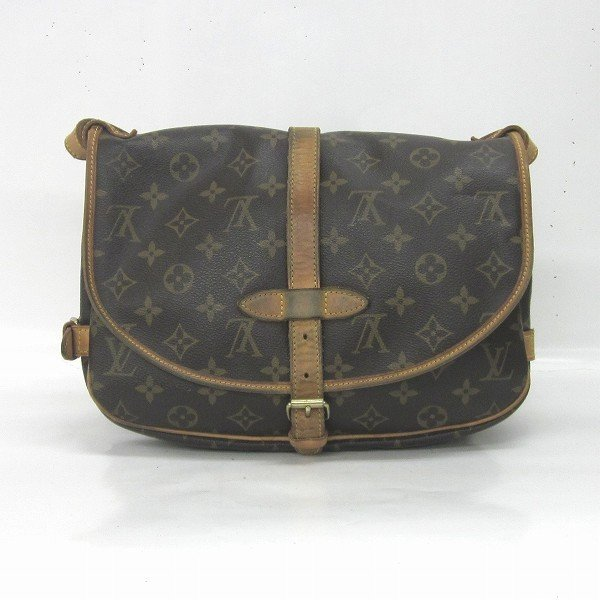 ルイヴィトン Louis Vuitton モノグラム ソミュール30 M42256 バッグ ショルダーバッグ レディース 【あすつく】