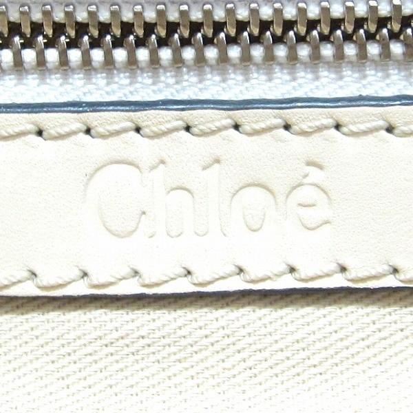 クロエ Chloe ケララ バッグ 本革レザー オフホワイト ハンドバッグ レディース 【あすつく】
