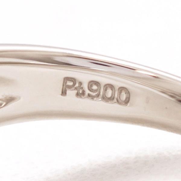 リング PT900 プラチナ 17号 ダイヤ wonderprice 06