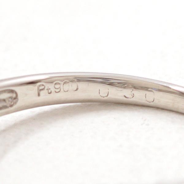 リング PT900 プラチナ 9.5号 ダイヤ 0.30|wonderprice|06