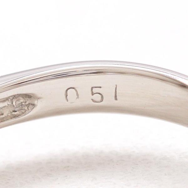 リング PT900 プラチナ 9号 ダイヤ 0.51|wonderprice|07