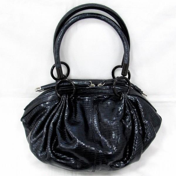 アルマーニコレツィオーニ バッグ ハンドバッグ レディース ブラック 【あすつく】