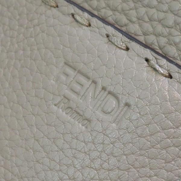 フェンディ FENDI セレリア スモールフランカ 8BR679 グレー ショルダー バッグ 2wayバッグ レディース 【あすつく】
