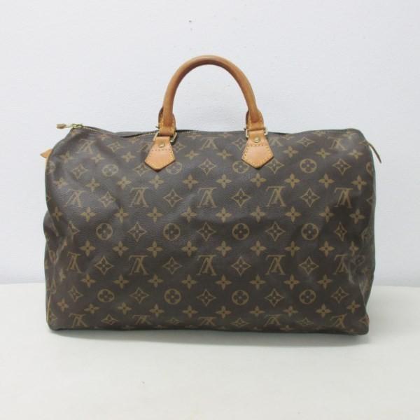 ルイヴィトン Louis Vuitton モノグラム スピーディ40 M41522 ハンドバッグ ボストンバッグ ユニセックス 【あすつく】