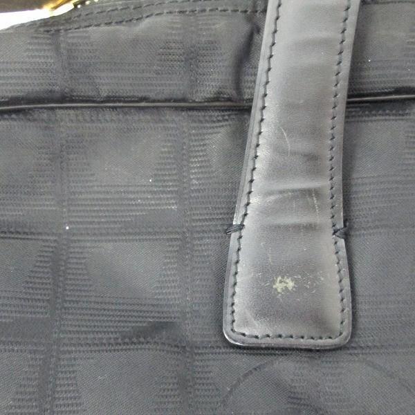 シャネル CHANEL ニュートラベルライン 黒 A15974 ナイロン レザー ビジネスバッグ ブリーフケース 【あすつく】