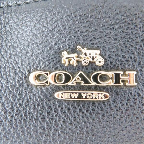 コーチ COACH レザー ブラック 2WAY バッグ ハンドバッグ レディース 【あすつく】