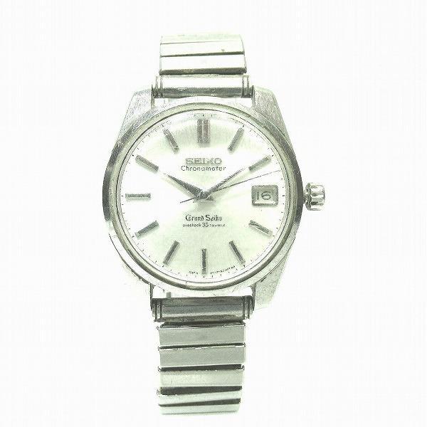 セイコーグランドセイコーGSクロノメーター5722-9990手巻き獅子メダリオンアンティーク時計腕時計メンズ 中古  あすつく