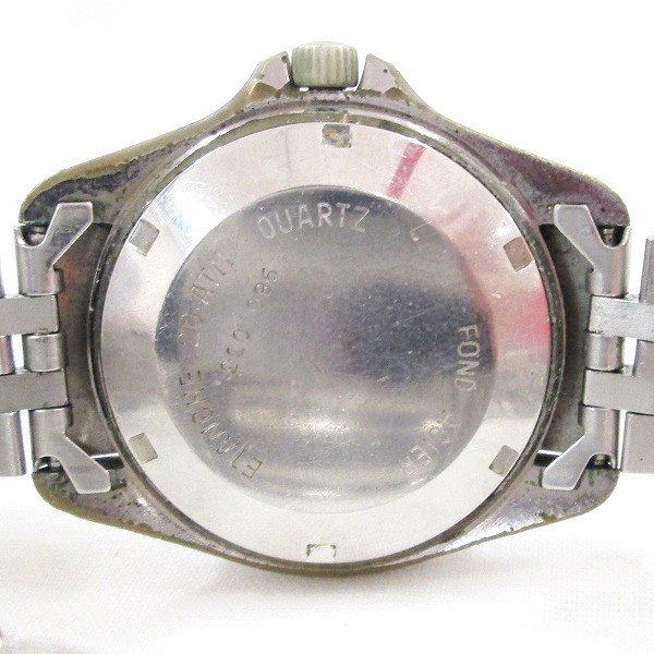 2e4bfc5424 ... タグホイヤー プロフェッショナル 200M 980.033 クオーツ 黒文字盤 時計 腕時計 メンズ 【中古】【あす