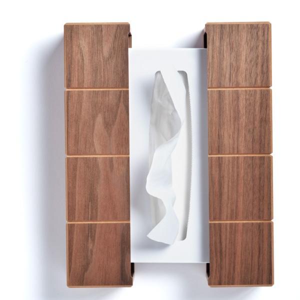 ティッシュケース 木製 送料無料 名入れ グリッツ ティッシュボックス   ササキ工芸 旭川 クラフト|wood-l|03