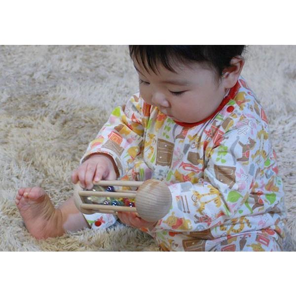 木のおもちゃ 出産祝い 知育 1歳 2歳 3歳 手作り 誕生日/ ビー玉万華鏡  光に透かして覗いてごらん鮮やかに宇宙(そら)に広がる色模様|wooden-toys|05