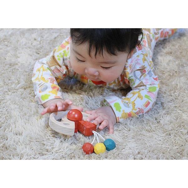 木のおもちゃ 出産祝い 0歳 1歳 知育 手作り/ びっくりピエロ( 日本製 おしゃぶりや歯がためにもOK! ) wooden-toys 04