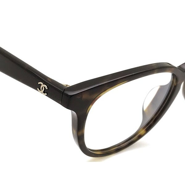 6b5def43e087 ... CHANEL シャネル メガネフレーム マーブルブラウン 眼鏡 3364A-C714|woodnet| ...