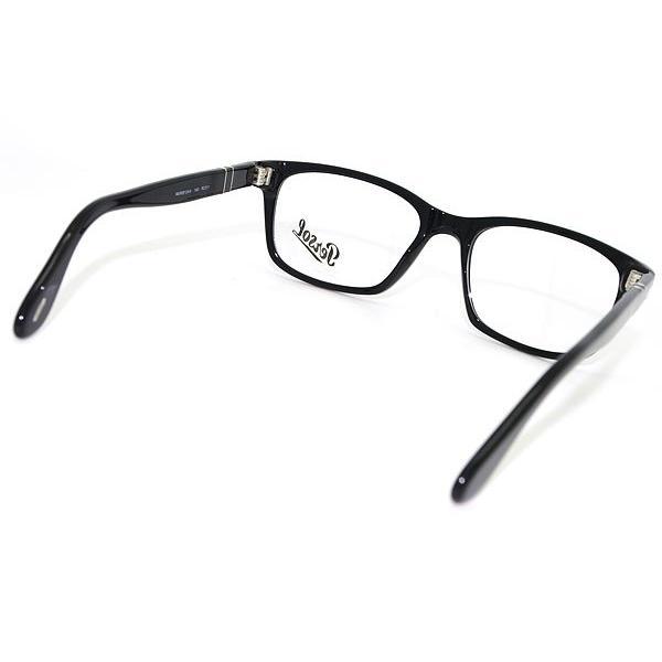 Persol ペルソール メガネフレーム ブランド 0PO-3012-95 ブラック|woodnet|03