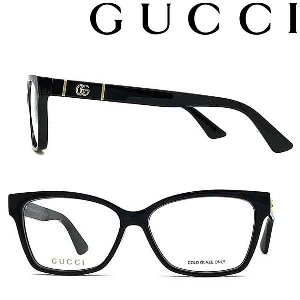 GUCCI グッチ ブラック メガネフレーム ブランド 眼鏡 GUC-GG-0634O-001