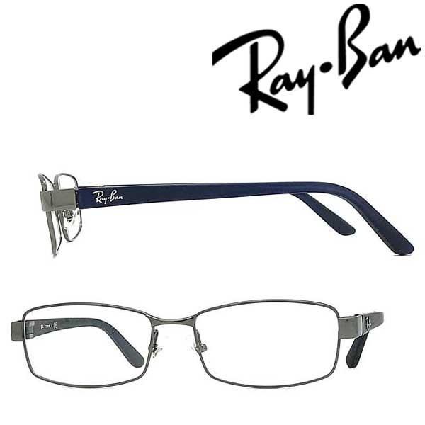 RAYBAN レイバン ガンメタルシルバー メガネフレーム ブランド 眼鏡 RX-8726D-1000
